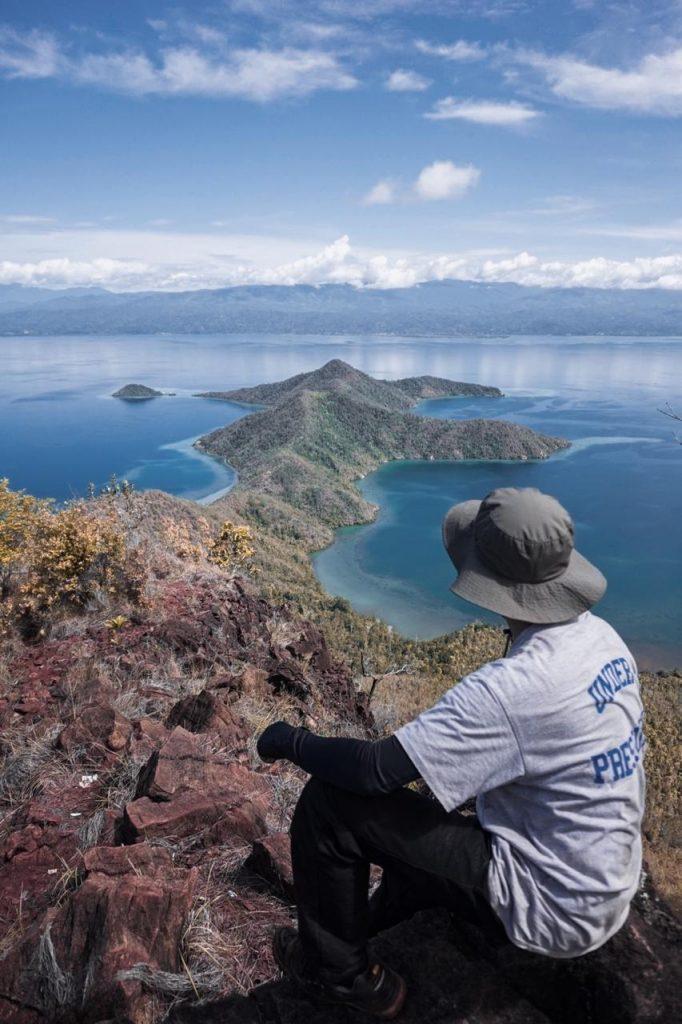 Keindahan alam Pulau Padamarang, (15/1/2020). (Foto: Arisandy)