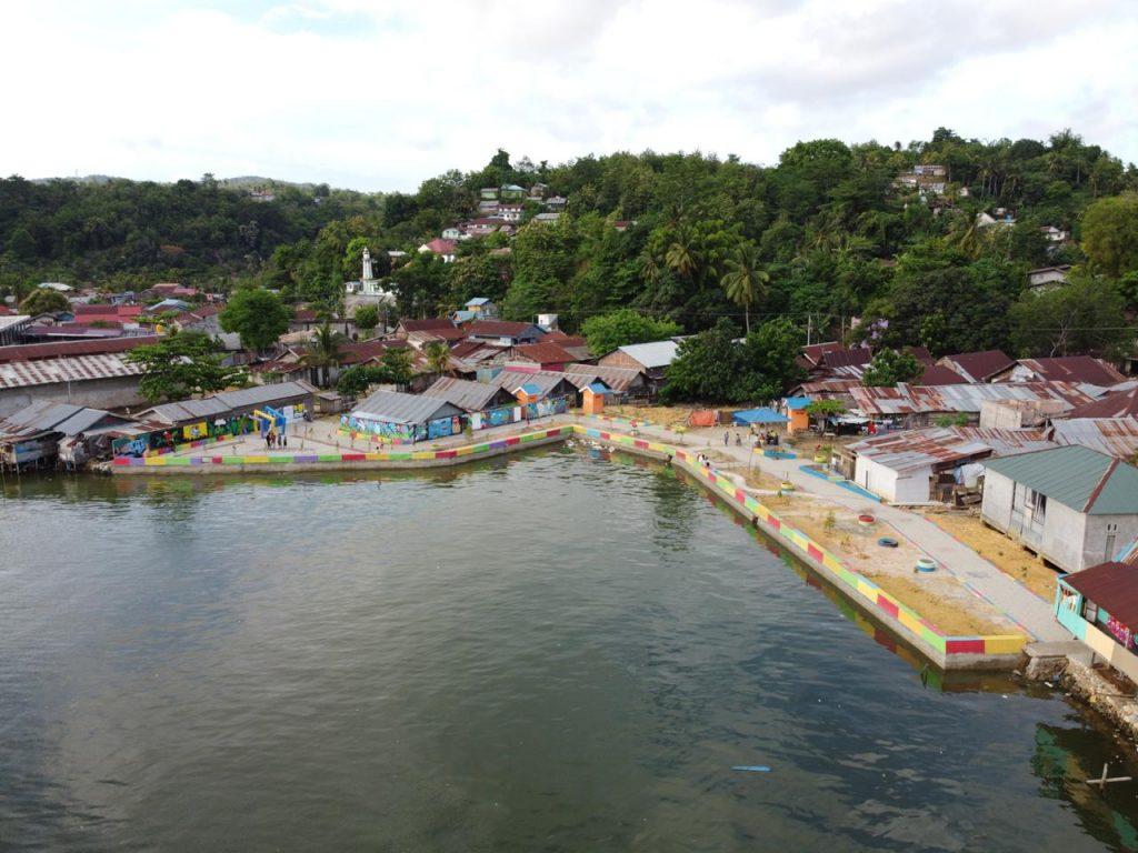 Taman Cendana di Kelurahan Kendari Caddi 04/02/2020. (Foto : Bobi Nardi)