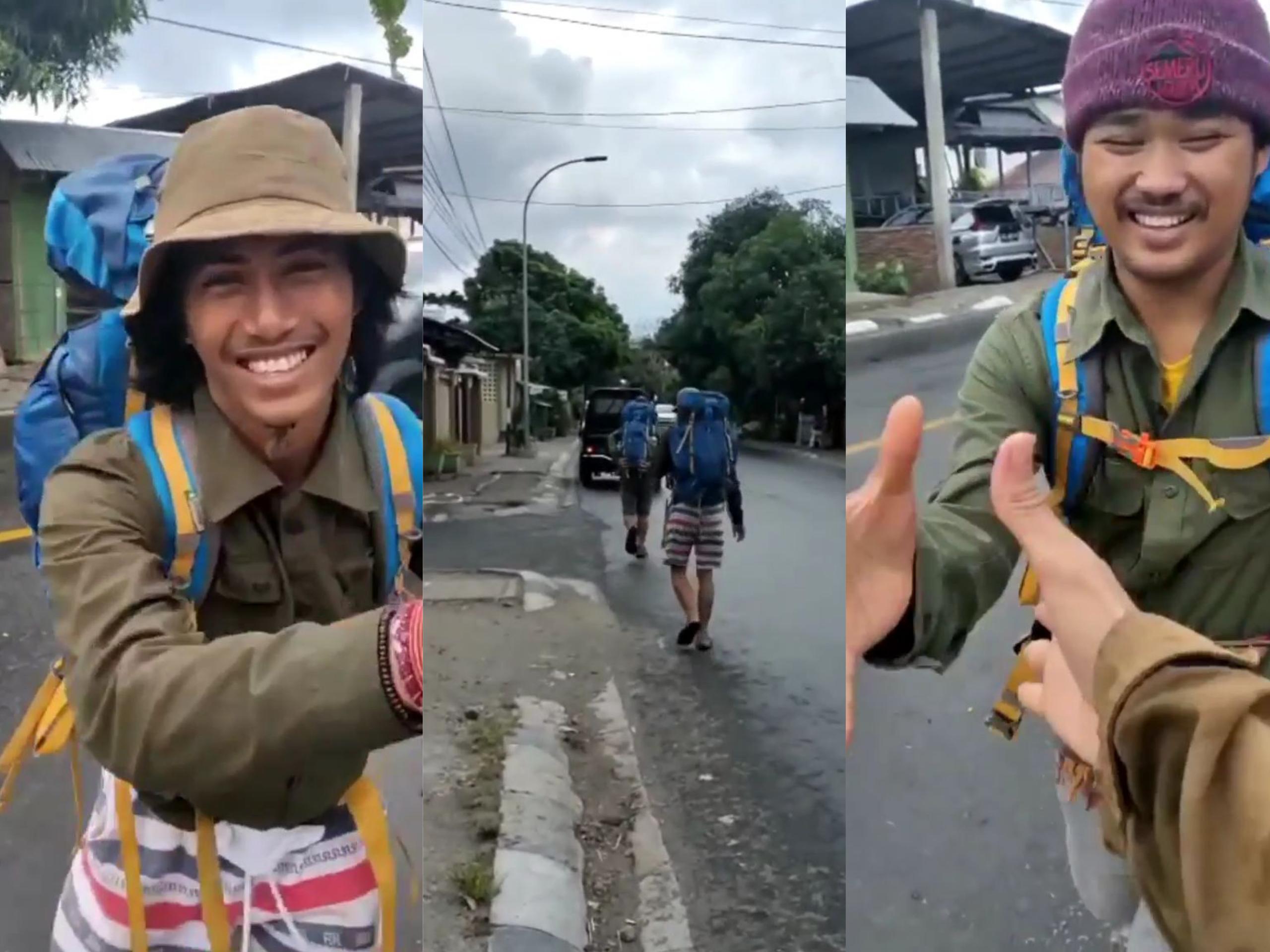 Inal dan Bolang melakukan perjalanan mengelilingi Sulawesi. (Foto : Istimewa)