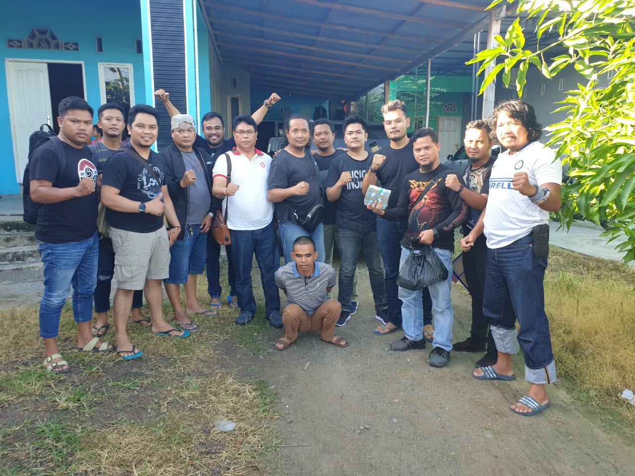 Buronan Kasus Penipuan Buruan Polres Banjarbaru Ditangkap di Jeneponto. (foto: istimewa)