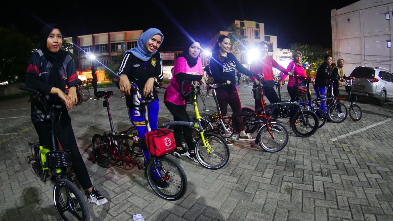 Kendari Bersepeda Kampanyekan Anti Polusi dan Macet