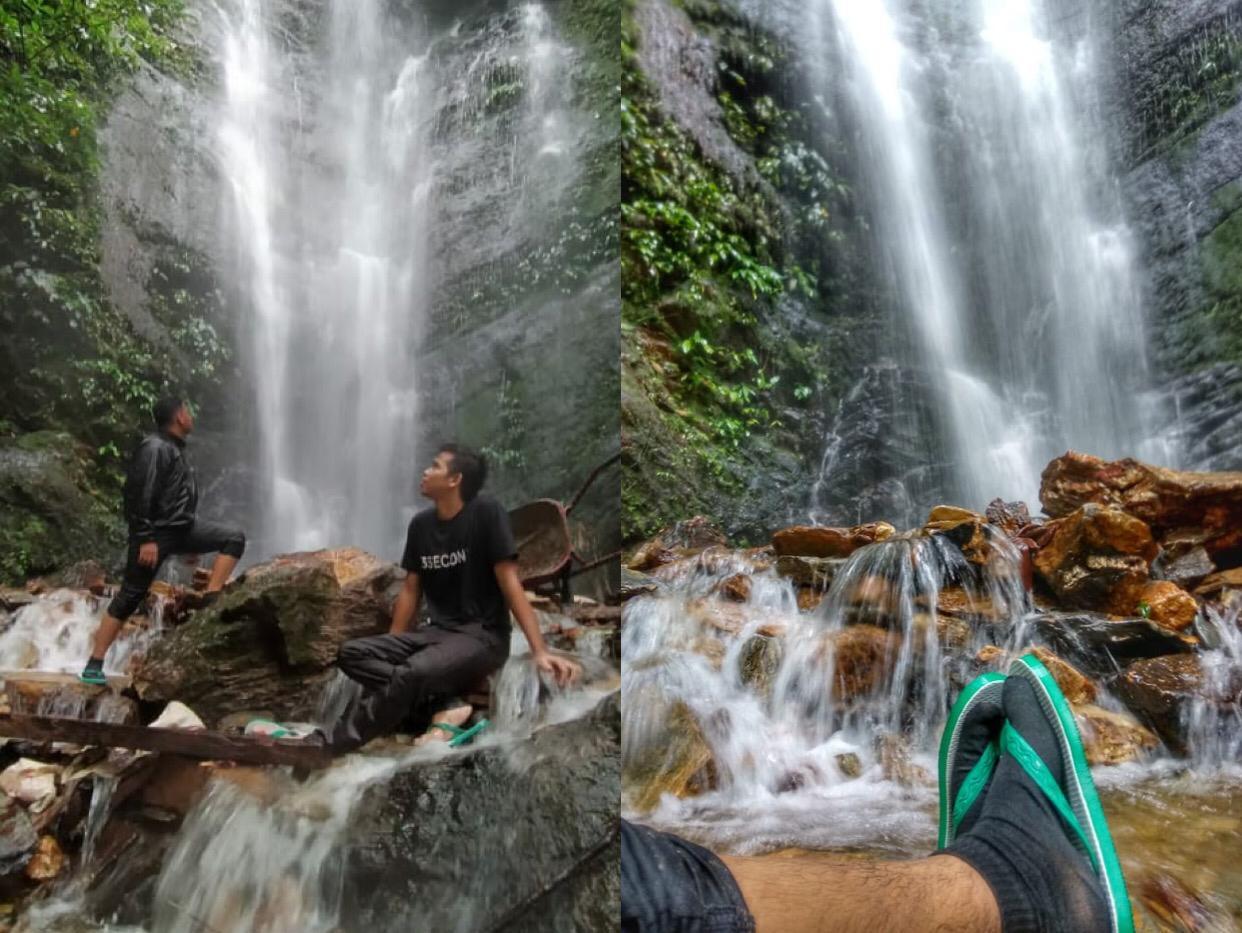 Air terjun Andawe di Kabupaten Konawe, Sulawesi Tenggara. (Foto : Istimewa)