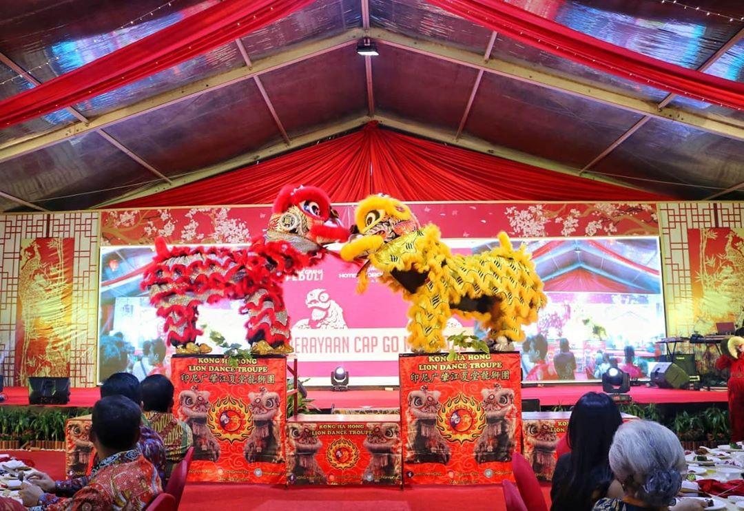 Perayaan Cap Go Meh Artha Graha Peduli di Hotel Borobudur