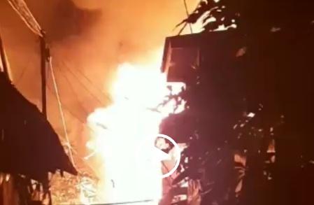 Puluhan Rumah Hangus Terbakar di Jakarta Barat, Belasan Damkar Dikerahkan