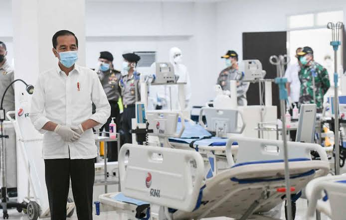 RS Darurat Wisma Atlet Sudah Merawat 75 Pasien Covid-19. (foto: beritasatu)