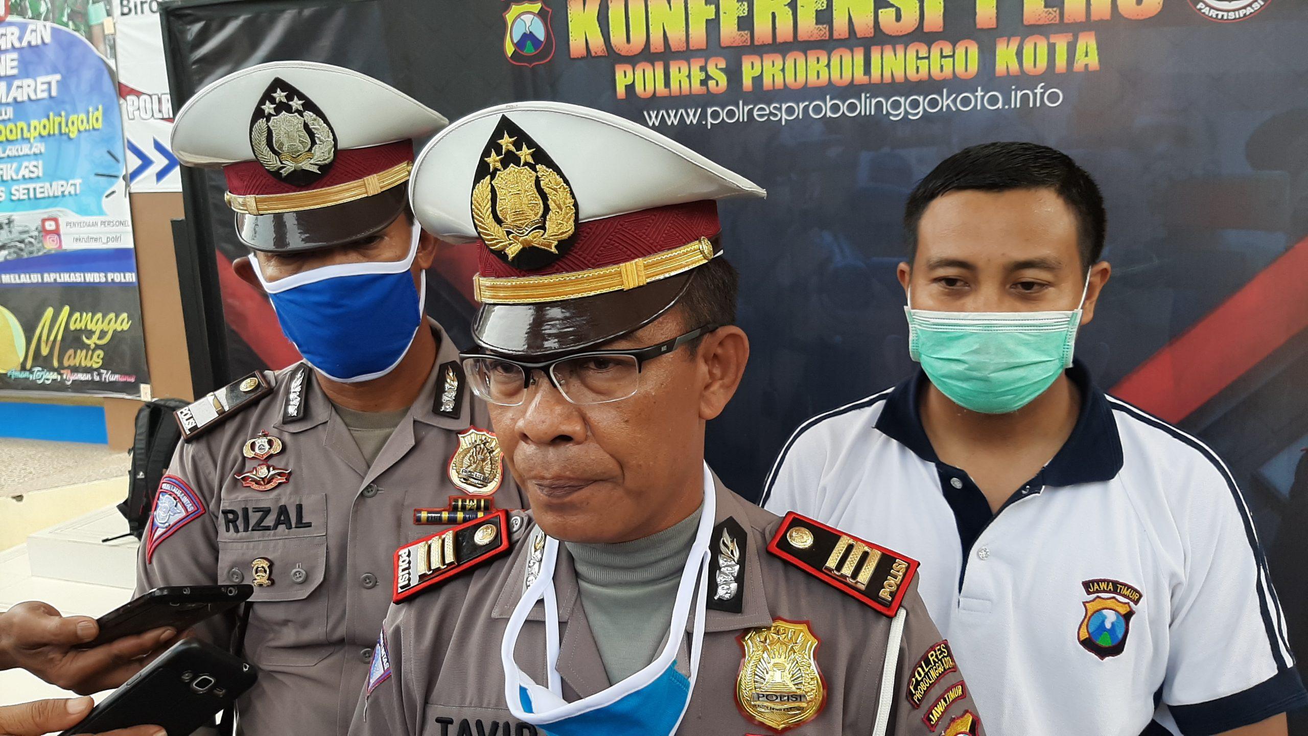 Cegah Sebaran Virus Corona Layanan SIM di Satpas Kota dan Kabupaten Probolinggo Ditutup. (foto: istimewa)