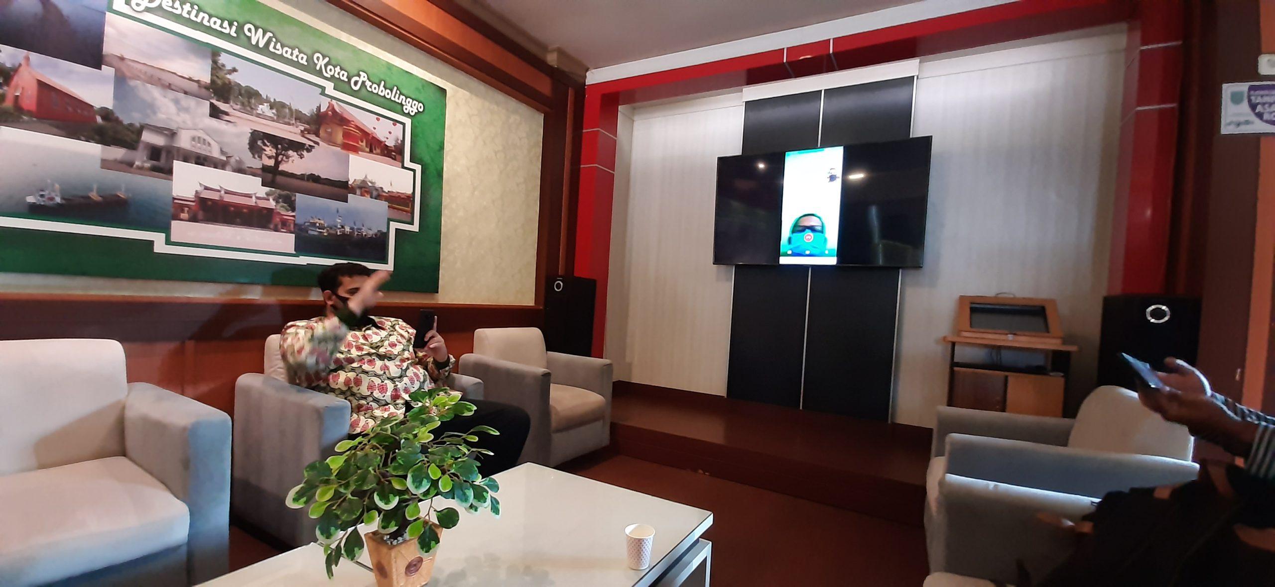 Pasien Positif Corona Mengaku Sehat Saat Video Call dengan Walikota Probolinggo