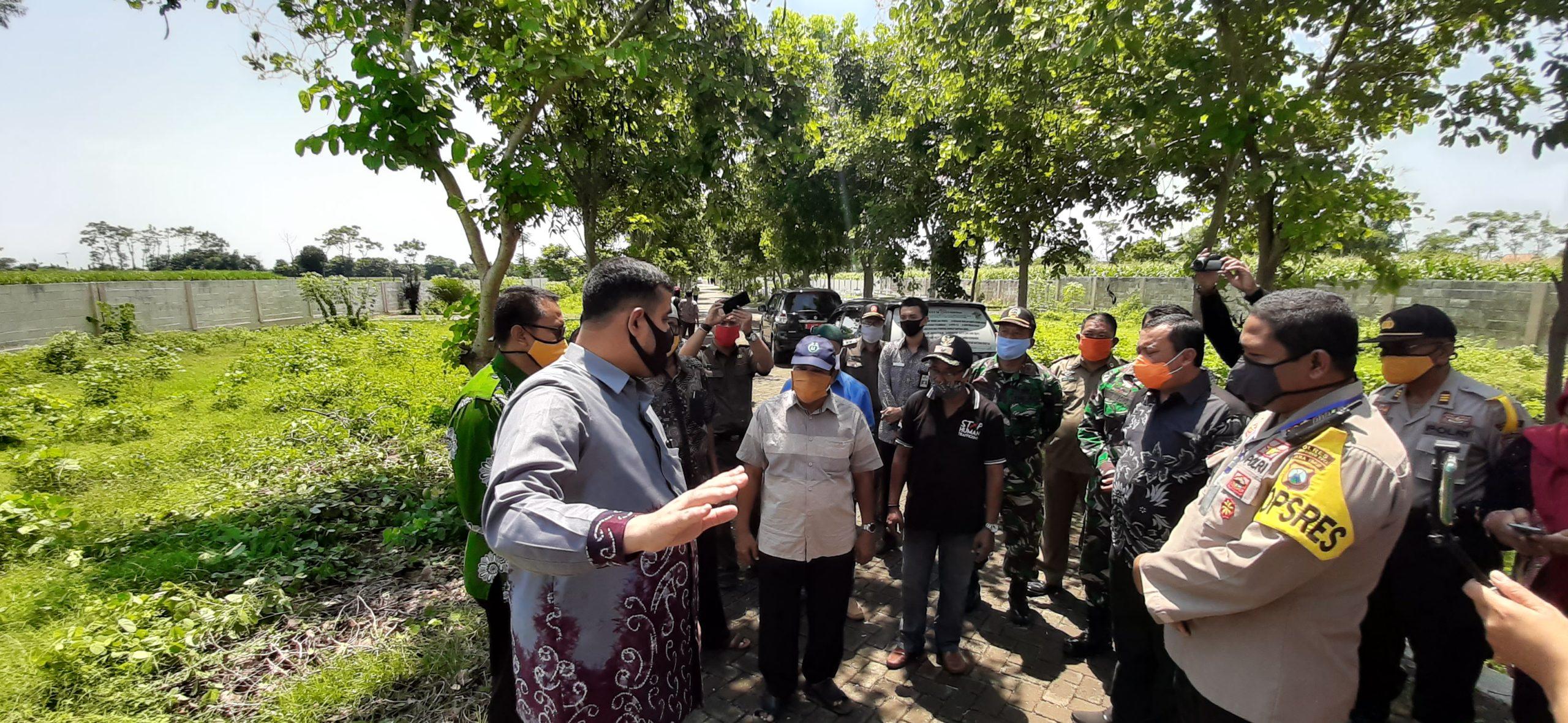 Pemkot Bersama Forkopimda Kota Probolinggo Siapkan TPU Orang Meninggal Dunia Akibat Covid - 19