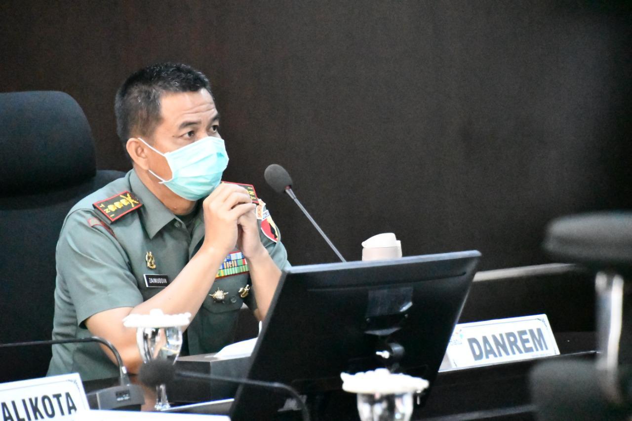 Danrem 083/Baladhika Jaya Kolonel Inf Zainuddin. (foto: Dodik)