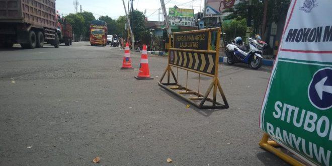 Antisipasi Penambahan Pasien Covid-19 dan Kemacetan Jalan, Polres Probolinggo Kota Alihkan Arus Lalin