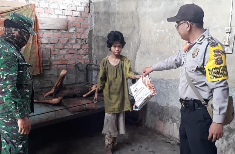 Badan Kurus Kering, 2 Anak Yatim Piatu Kelaparan di Muara Enim, Ini Faktanya