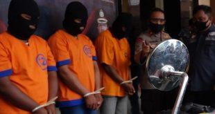Maling Motor di Masjid Milik Jamaah Berhasil Dibekuk Tim Buser Polres Probolinggo Kota