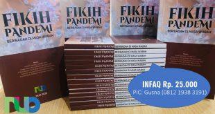 Buku saku NUO Fikih Pandemi, beribadah di masa wabah