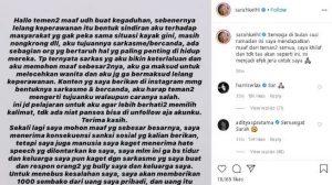 Sarah Salsabila Lelang Keperawanan Rp 2 Miliar Demi Covid-19. (foto: IG @sarahkeihl)