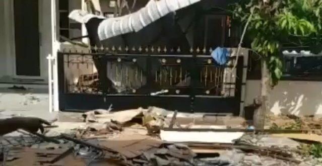 Ledakan Tabung Gas di Cemara Asri Medan, Mobil dan Satu Rumah Rusak Berat