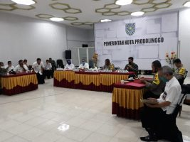 Forkopimda Kota Probolinggo Gelar Rakor Penerapan Kelurahan Tangguh