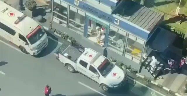 Seorang Pesepeda Meninggal Mendadak di Depan Halte Bus TMB Asia Afrika Bandung