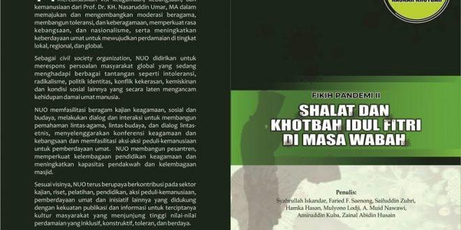 Panduan Shalat dan Khotbah Idul Fitri di Masa Wabah