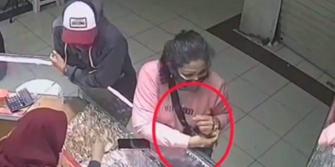 Wanita Curi Gelang di Toko Emas Cibubur Terekam CCTV, Polisi: Siap Diselidiki