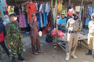 Operasi kali ini bertempat di Pasar tradisional Patalan Kecamatan Wonomerto