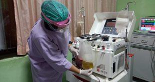 RSUD Dr Mochamad Saleh Kota Probolinggo Datangkan Alat Terapi Averesis Untuk Pasien Kritis Covid-19