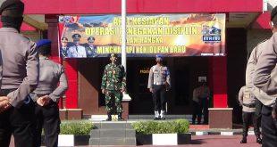 Apel Kesiapan Operasi Penegakan Disiplin Protokol Kesehatan
