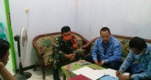 Babinsa Koramil 0820/18 Kotaanyar Laksanakan Monitoring Monev Desa