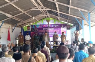 Launching Kampung Tangguh Lawan Covid-19 di Probolinggo