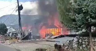 Kebakaran di Jagong Jeget Aceh Hanguskan 3 Rumah dan 1 Gudang