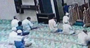Imam Masjid Ditikam saat Pimpin Doa di Pekanbaru, Pisaunya yang Bengkok