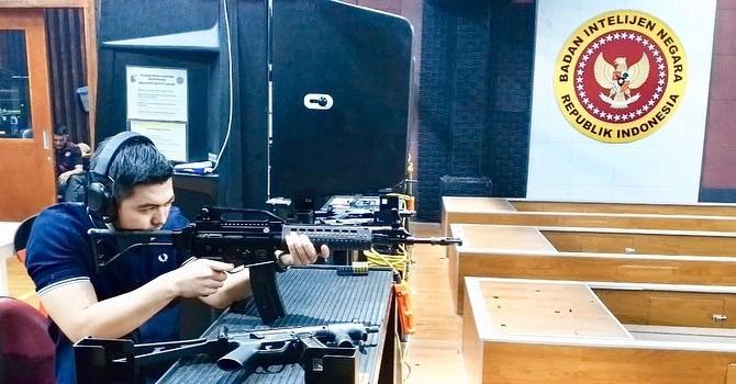 ruangan tembak Velox Et Exactus Shooting Klub. (foto: IG @hafizfaturrakhman)