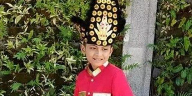 Inilah Bocah Gorontalo yang Ada dalam Pecahan Uang Rp 75 Ribu. (foto: Gopos)