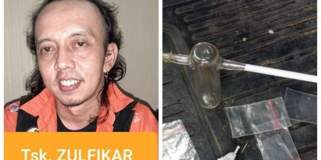 Pernah Direhabilitasi di Lido, Jamal Preman Pensiun Ditangkap Lagi Terkait Narkoba. (foto: istimewa)