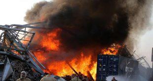 Ledakan di Beirut Lebanon Seperti Bom Nuklir, ini Dugaan Penyebabnya. (AFP)