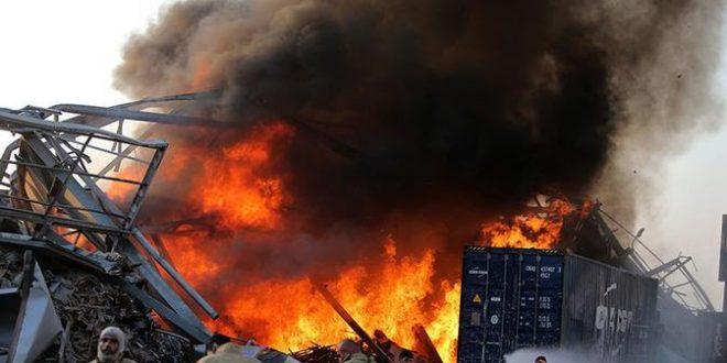 Ledakan di Beirut Lebanon Seperti Bom Nuklir, ini Dugaan Penyebabnya