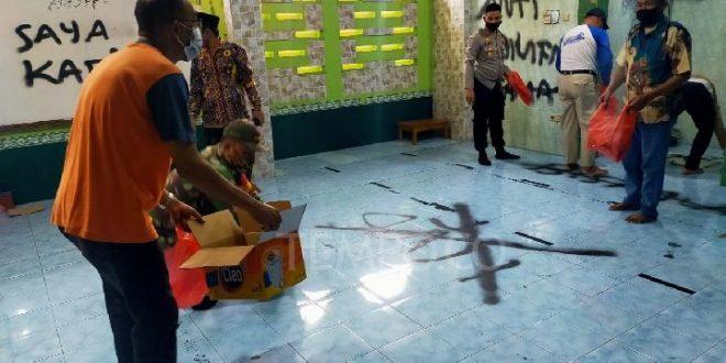 Belajar Agama di Youtube, Mahasiswa Pelaku Vandalisme di Musola Tangerang Ditangkap. (foto: istimewa)