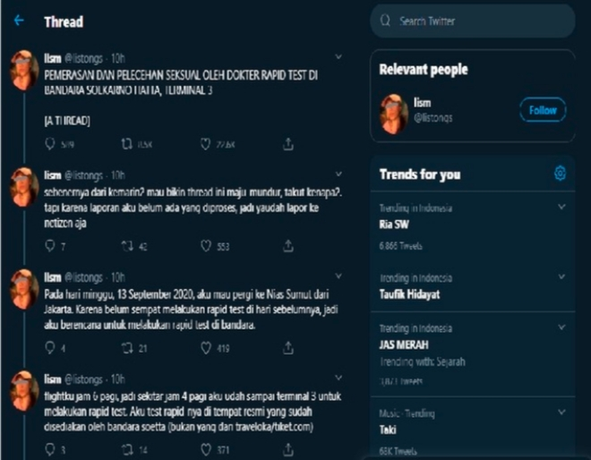 Ubah Hasil Rapid Test, Pelaku Pelecehan di Bandara Soekarno-Hatta Jadi Tersangka