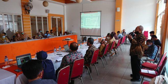 Pantau Kelayakan Air Minum, Bappeda Gelar Rapat Koordinasi Dengan Kelompok Kerja Air Minum Dan Penyehatan Lingkungan Permukiman