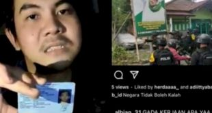 Hina Brimob Kacung China, AJ Ditangkap Polisi di Bogor