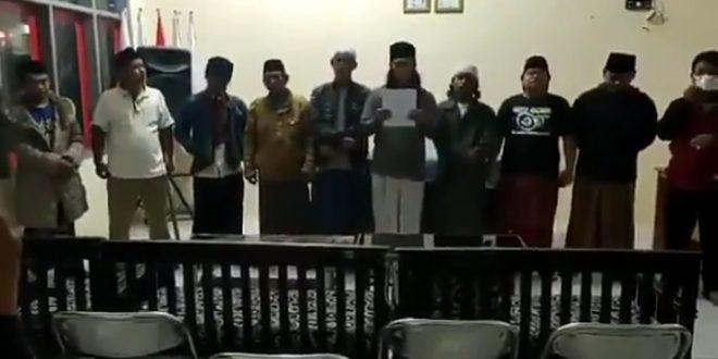 Akhirnya Tujuh Pelaku Adzan Hayya Alal Jihad Asal Majalengka Minta Maaf