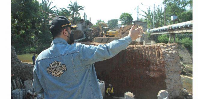Walikota Probolinggo Cek Perbaikan Jalan Dan Jembatan